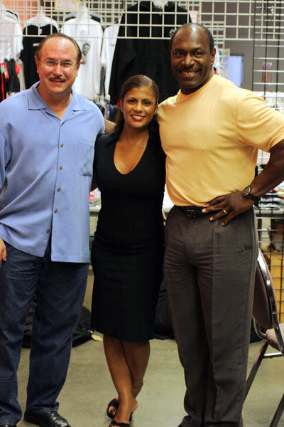 Victor Conte, Madeline Wheeler and Lee Haney