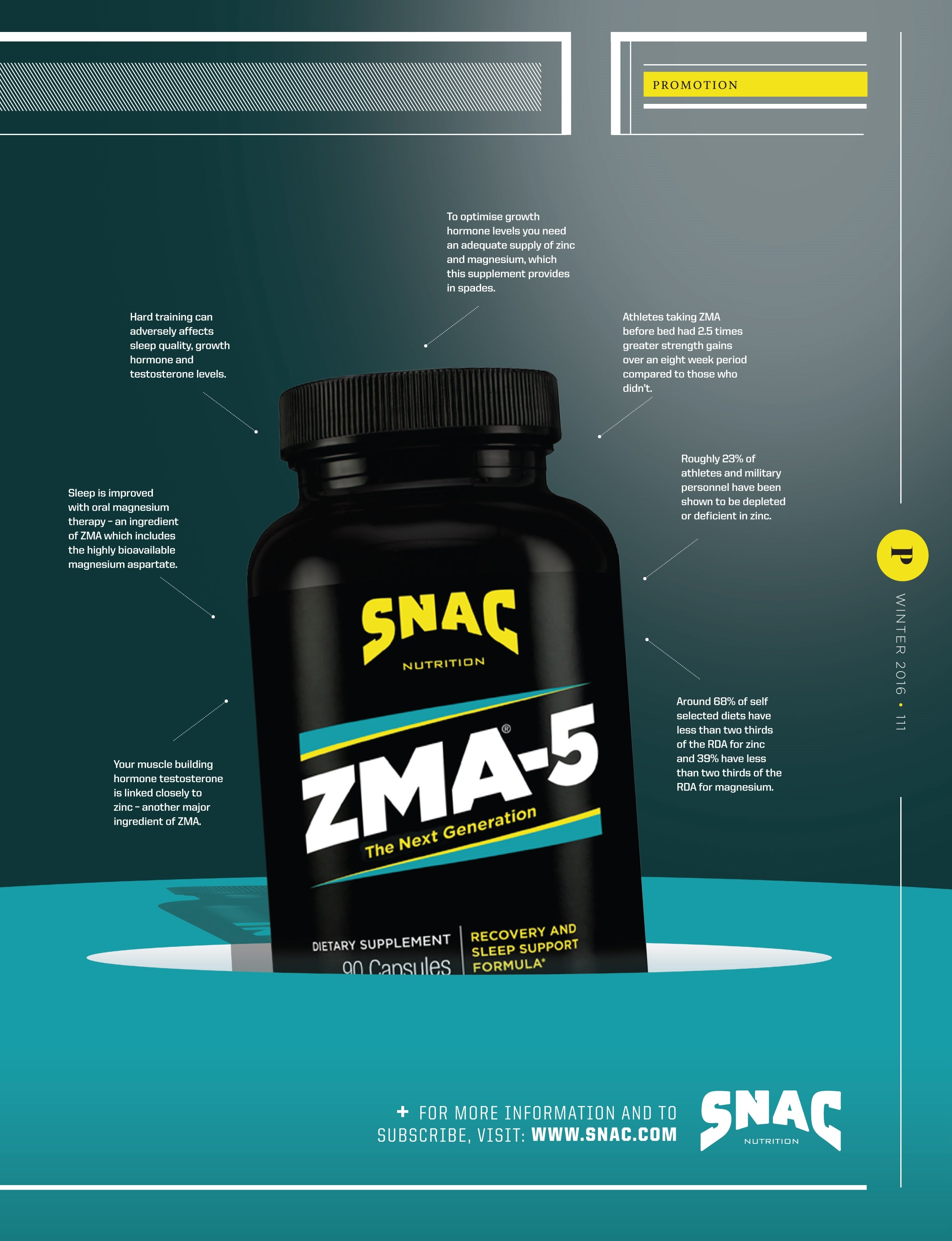 SNAC Train Article: Recover Stronger