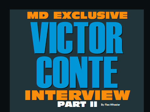 Victor Conte Part 2 - Muscular Development