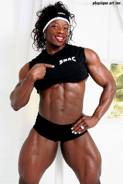 Seven-time Ms. Olympia and six-time Ms. International bodybuilding champion.