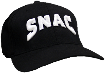 SNAC - Black Flex Fit Cap