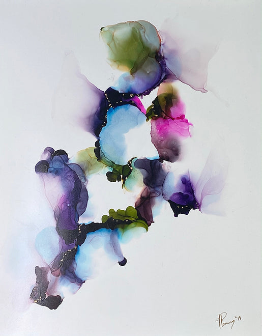 Abstract Alcohol Ink Paintings