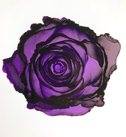 Purple rose #1