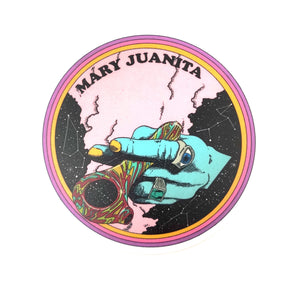 Nick Potts 'Mary Juanita' Sticker