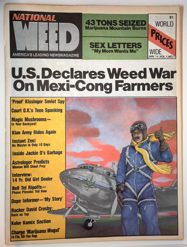 National Weed Newspaper Vol. 1, No. 1, 1976