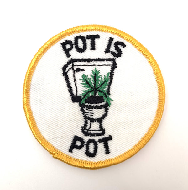 Pot is Pot Patch