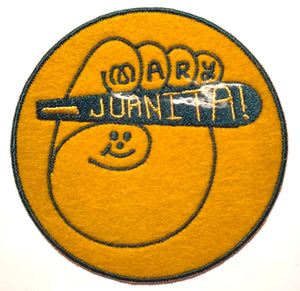 Mary Juanita patch designed by Jason G. Sturgill