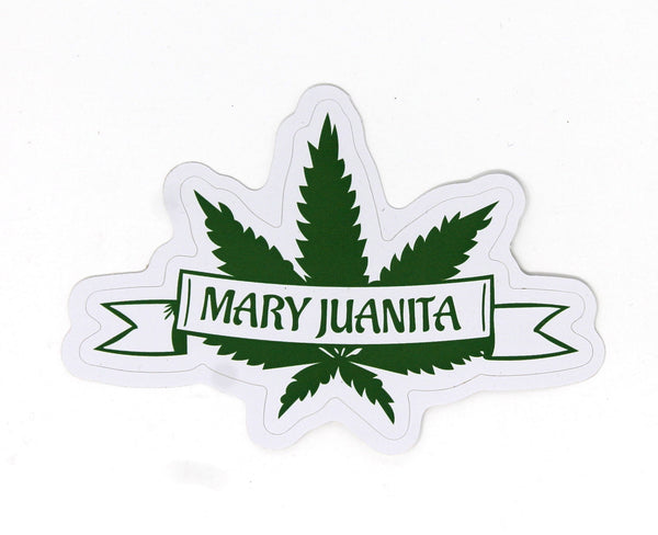 Mary Juanita Original Logo Sticker