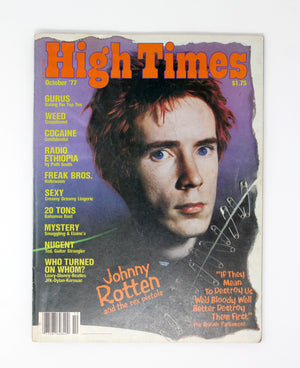 Vintage High Times Magazines from the 70's