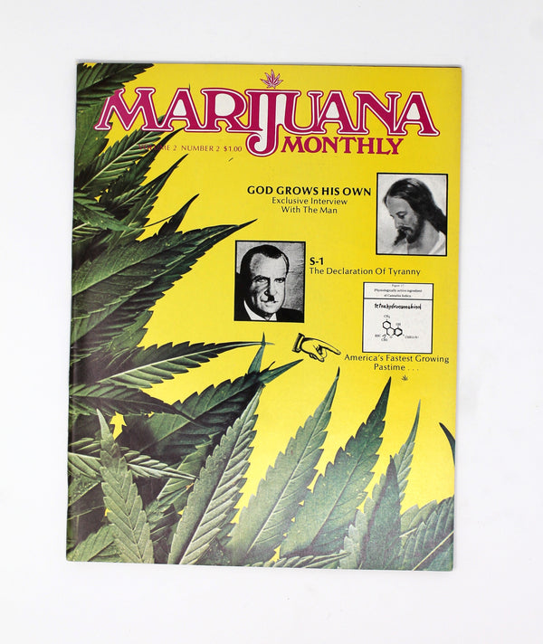 Marijuana Monthly – Vol. 2, No. 2