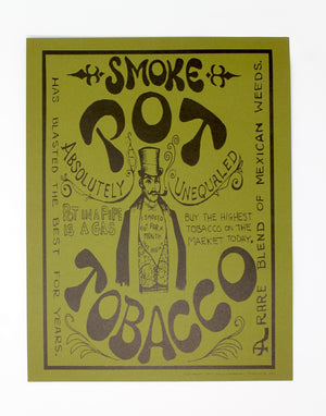Vintage Smoke Pot Posters from Paul-Marshall (1967)