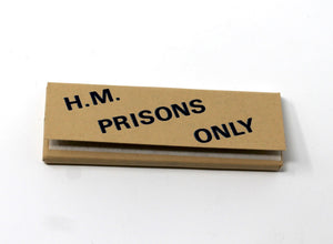 H.M. Prisons Only Rolling Papers