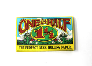 One & a Half Rolling Papers