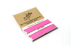 Strawberry Sup-Air Job Rolling Papers with elastic band