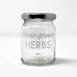 Home Grown Herbs Twist Top Jar