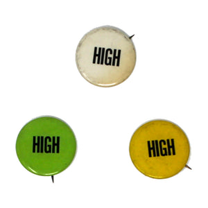 "Vintage ""High"" Button"