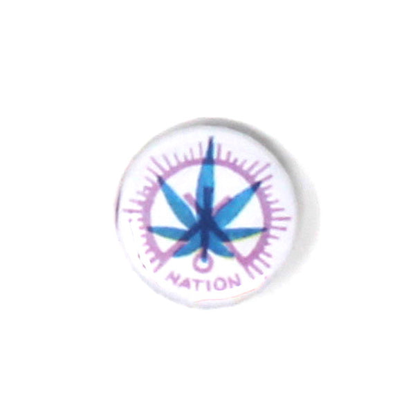 "Vintage ""Weed Nation"" Button"