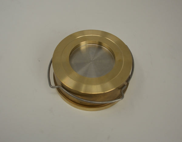 Check Valve PN16 NW50 brass 11mbar Opening Pressure