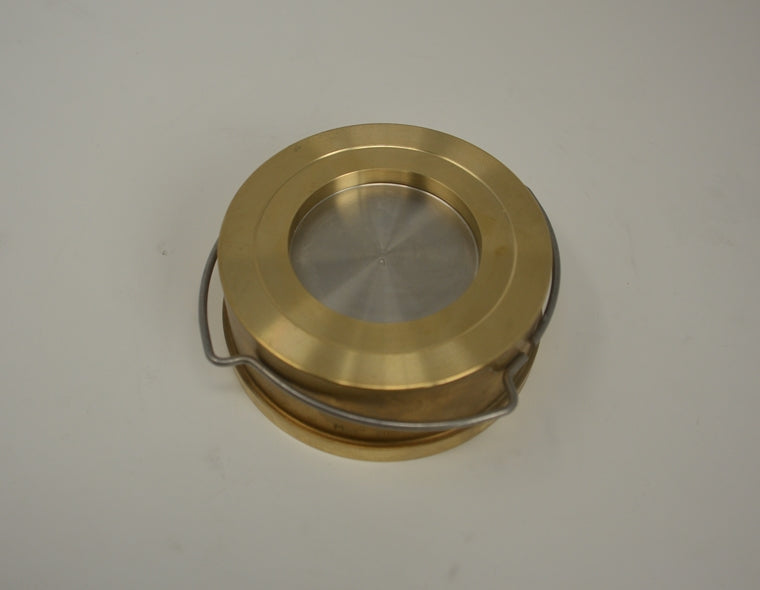 Check Valve PN16 NW65 brass 11mbar Opening Pressure