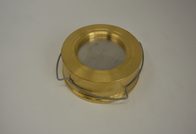 Check Valve PN16 NW100 brass 11mbar Opening Pressure