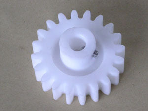 Gear for Pulse Generator/Encoder m3 z20 b19 l34 plastic