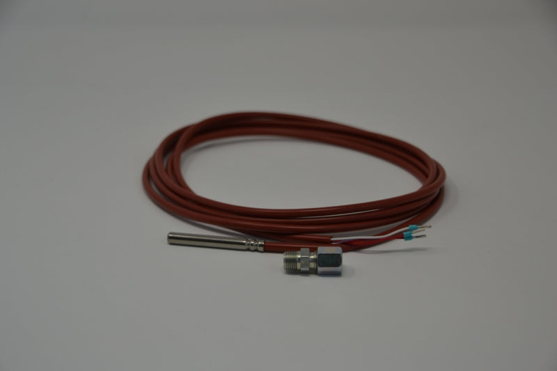 Temperature probe PT100 sensor incl. cutting ring fitting