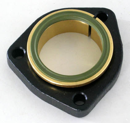 Clamping Flange Complete D50 3holes 130° St.