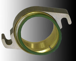 Clamping Flange Complete D50, 2 holes,a = 78mm