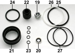 Fill Injector Seal Set F50 ... 12 .. EPP