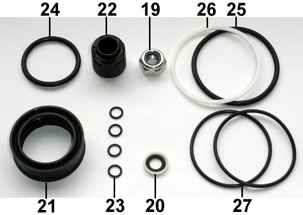 Fill Injector Seal Set F50 ... 10 .. EPP