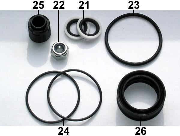 Fill Injector Seal Set FD50 ... 20 .. EPS