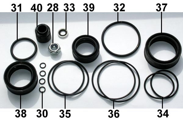Fill Injector Seal Set F50 ... 12 .. EPS Eject
