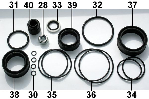 Fill Injector Seal Set F50 ... 20 .. EPS Eject
