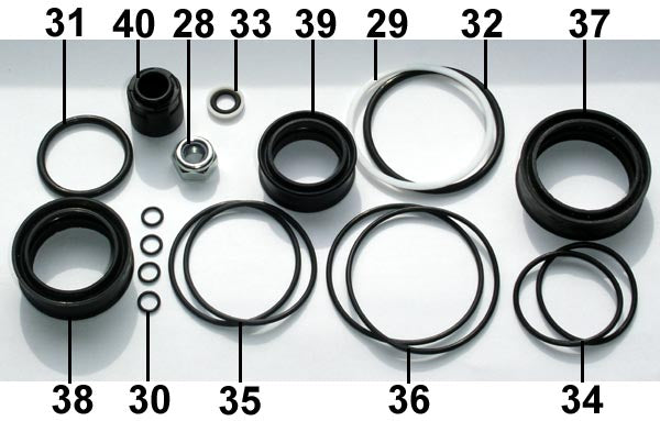 Fill Injector Seal Set F50 ... 12 .. EPP Eject