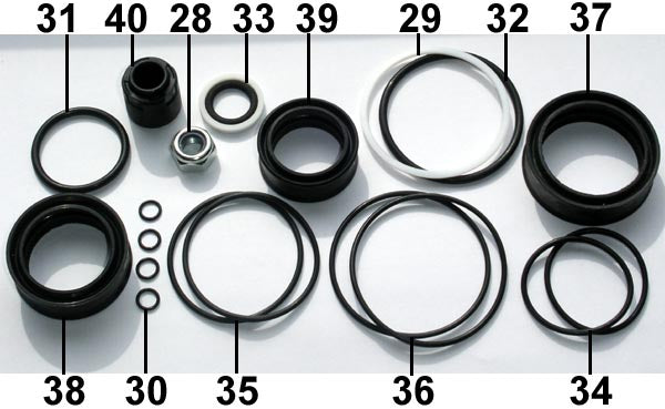 Fill Injector Seal Set F50 ... 20 .. EPP Eject