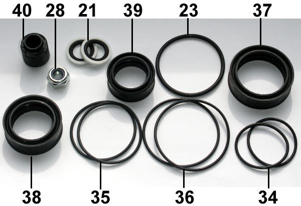 Fill Injector Seal Set FD50 ... 20 .. EPP Eject