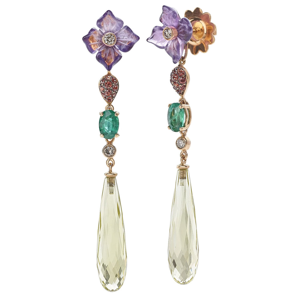 FLORA Earrings by GIANNI LAZZARO