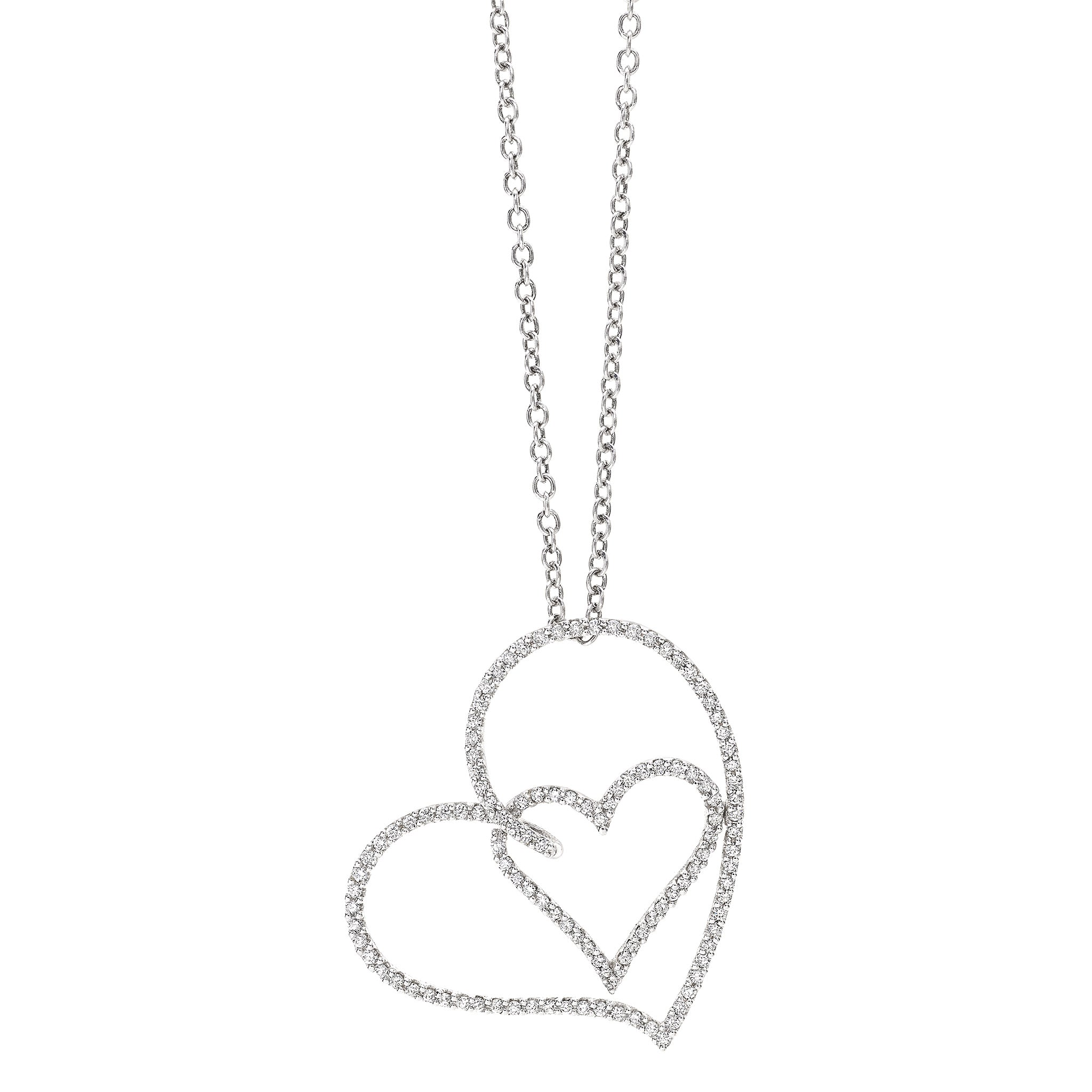 HEART Pendant Necklace by GIANNI LAZZARO
