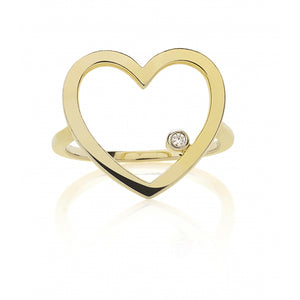 HEART Diamanten Ring