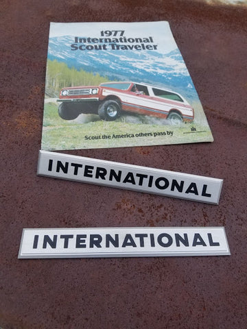 International Tailgate badge