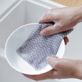 JUSTDOLIFE 50PCS Dish Towel Disposable Non-Stick Absorbent Cleaning Cloth Kitchen Towel