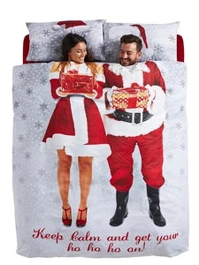 Christmas His & Hers Bedding Set