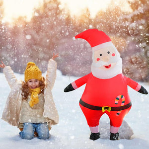 Christmas Cosplay Costume Inflatable Santa Costume