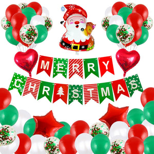 Christmas Balloon Set