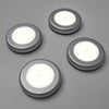 4 Pcs LED Smart Sensor Magnetic Cabinet Light