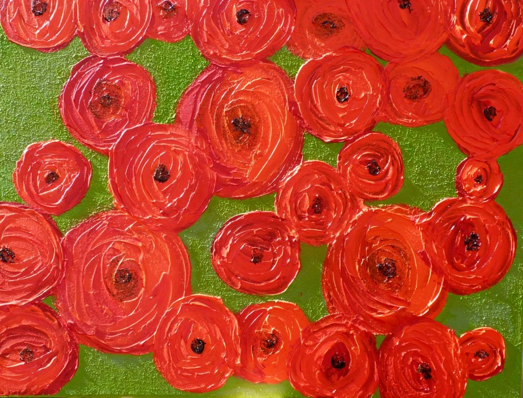 ***Sold*** Poppies