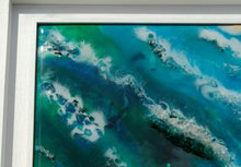 Load image into Gallery viewer, Recycled Glass and Resin Seascape