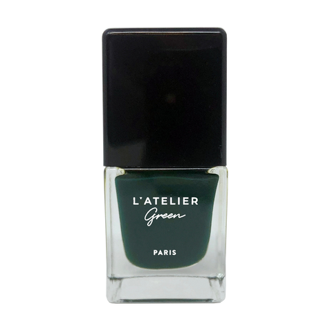 Emerald Dreams - L'ATELIER Green Paris Halal-Vegan-Breathable-Nail-Polish-Cruelty-Free-Plant-Based-green-nail-polish (3923003211858)
