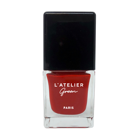 Le Rouge - L'ATELIER Green Paris Halal-Vegan-Breathable-Nail-Polish-Cruelty-Free-Plant-Based-red-le-rouge (3923002490962)