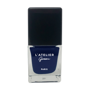 Stormy Heart - L'ATELIER Green Paris Halal-Vegan-Breathable-Nail-Polish-Cruelty-Free-Plant-Based-blue-nail-polish (3923006455890)